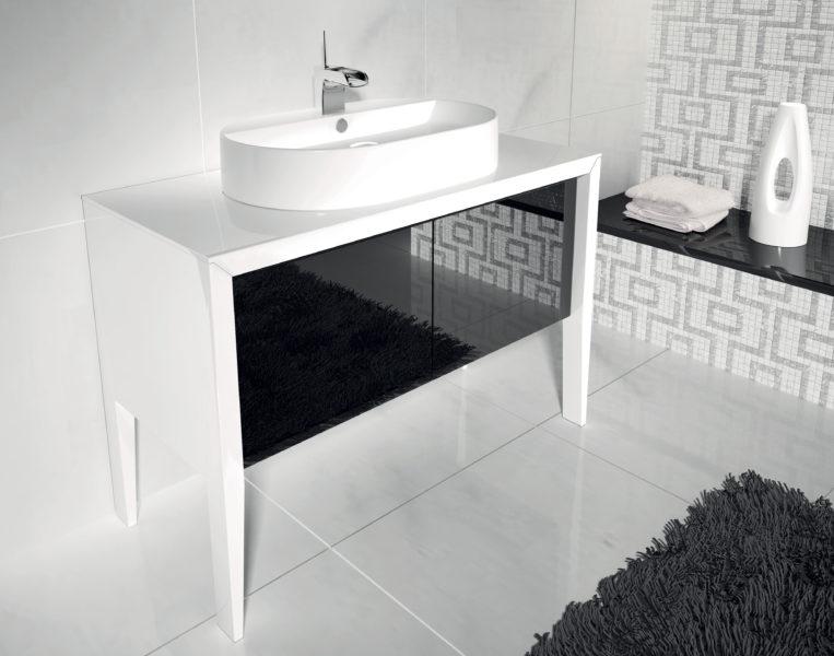 Base per lavabo d'appoggio 105 cm per bagno di design | Progetto Bagno