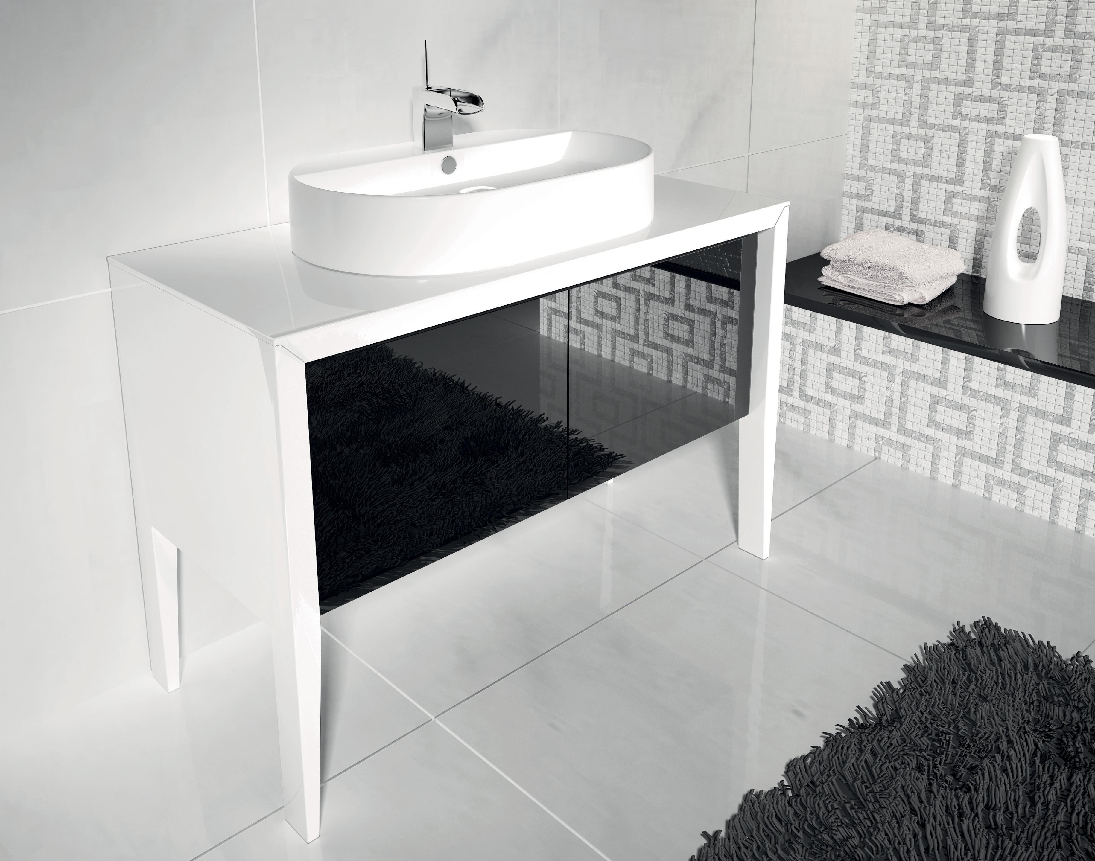 Bagno bianco e nero mondo convenienza specchi bagno bagno - Piastrelle a poco prezzo ...