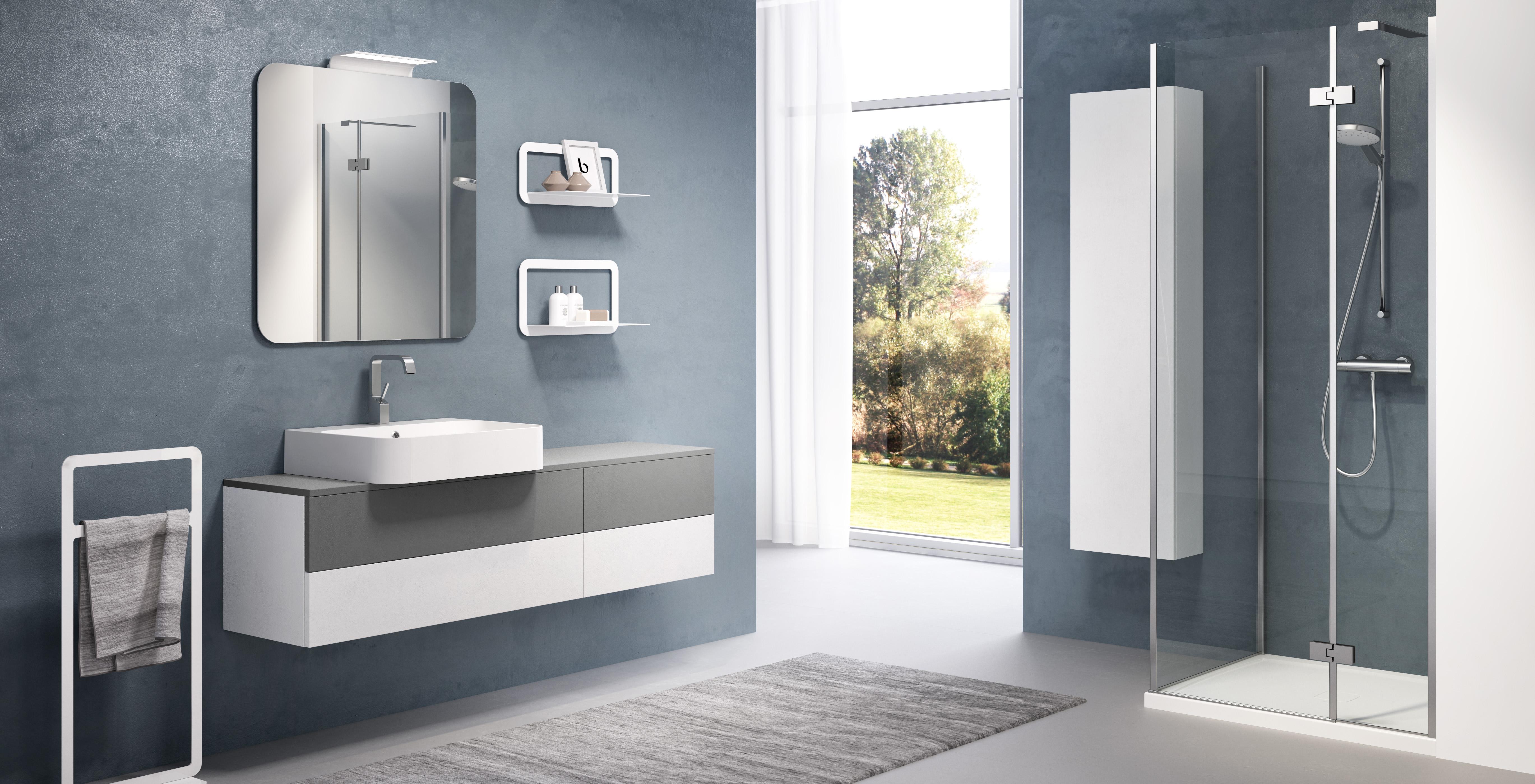 Lounge slim progetto bagno - Mobile bagno profondita 35 ...