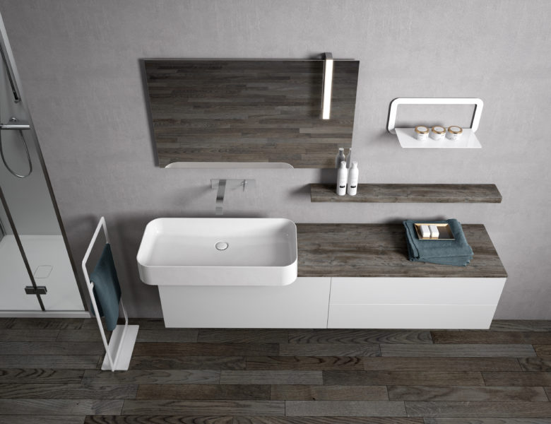 Lounge slim progetto bagno for Bricocenter catalogo 2016