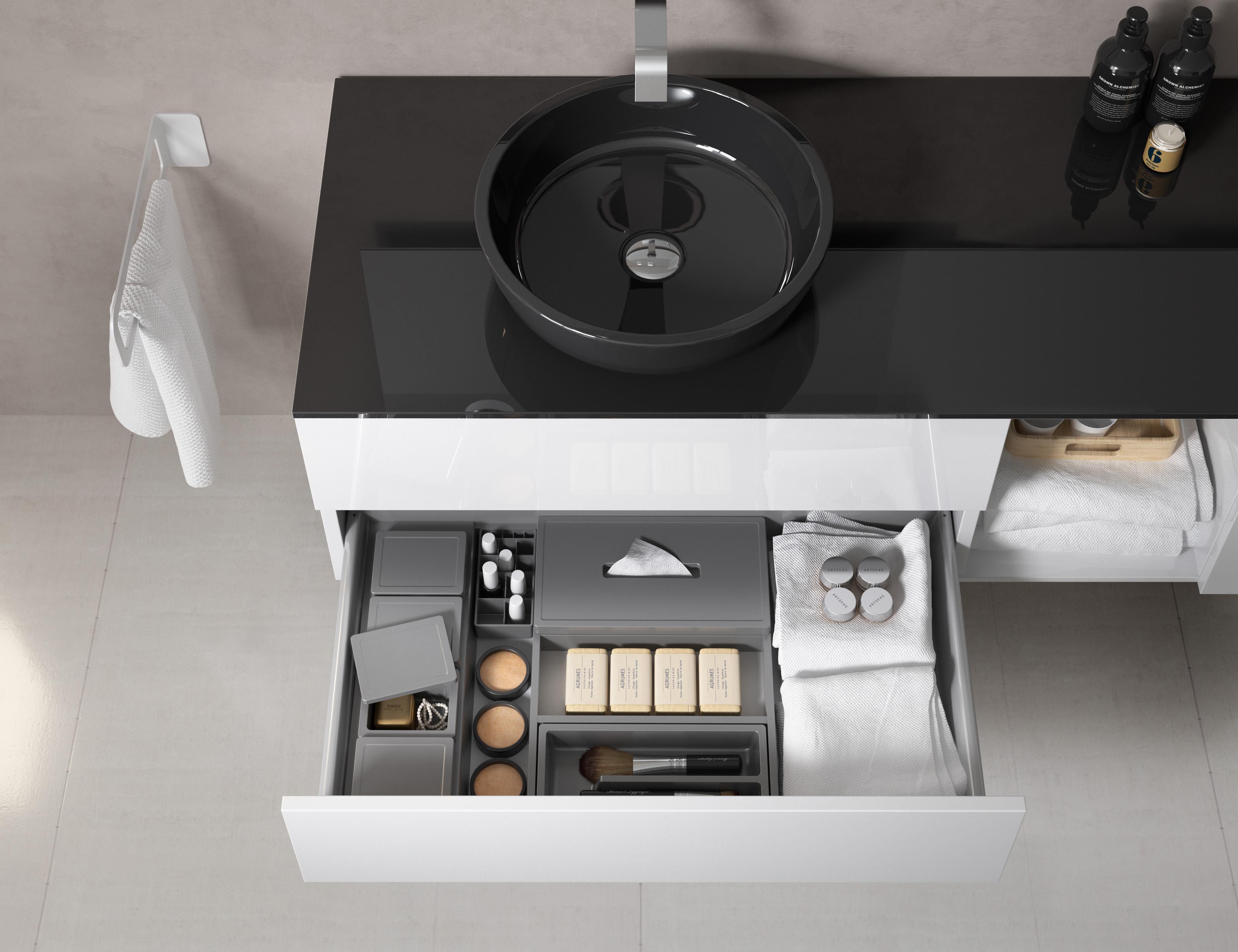Accessori Bagno Colorati.Lounge Slim Progetto Bagno