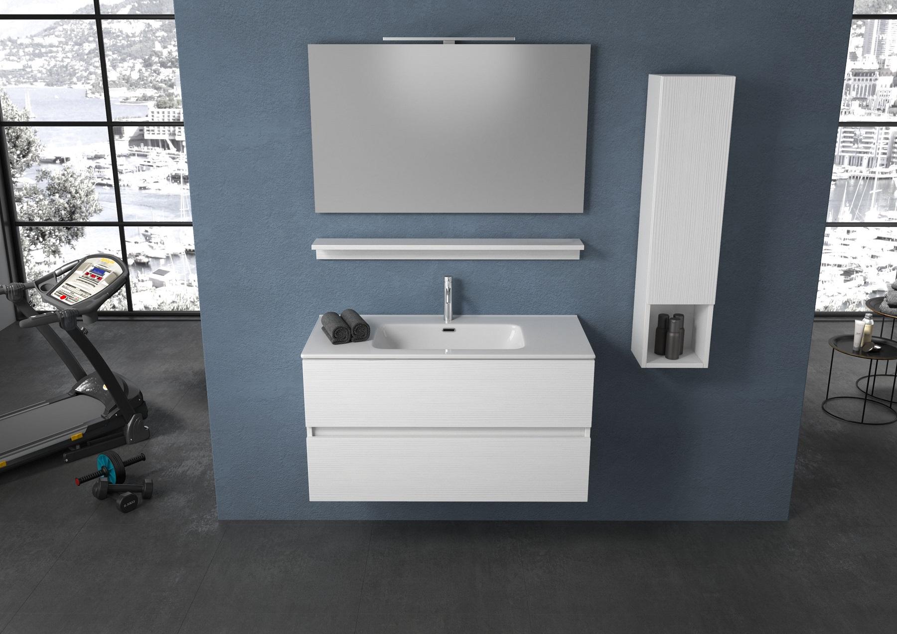 H 25 50 54 progetto bagno - Pensile bagno orizzontale ...